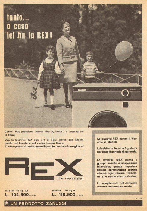 Riparazione e assistenza lavatrici rex a lucca e provincia servizi tecnici di salvatore micalizzi - Cucine americane anni 50 ...